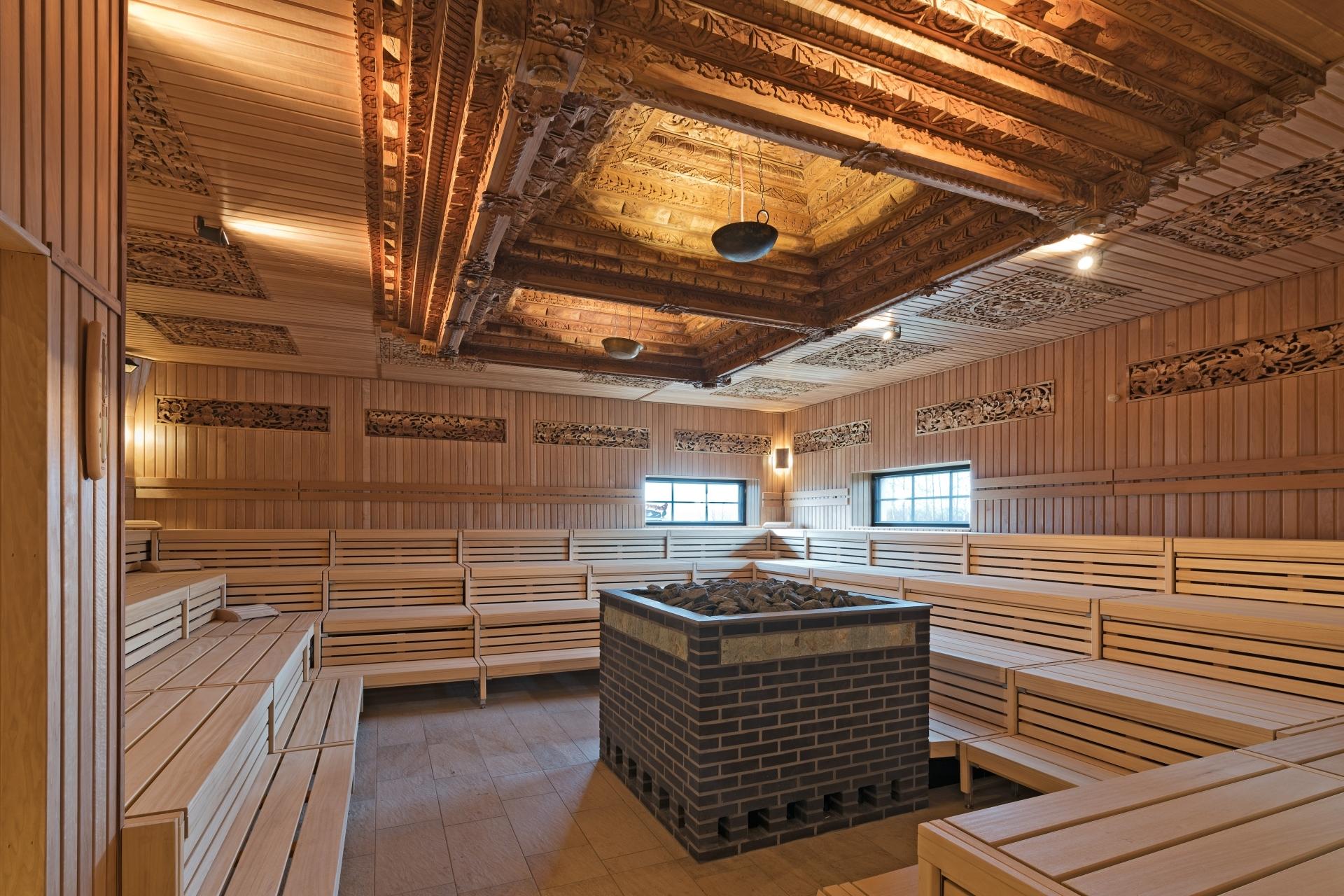 Simobalun: vabali sauna
